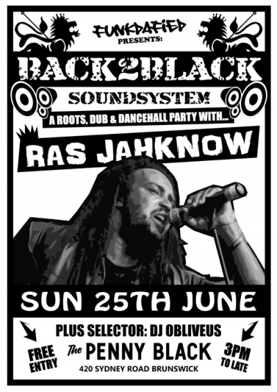 Back2Black featuring Ras Jahknow (Live)