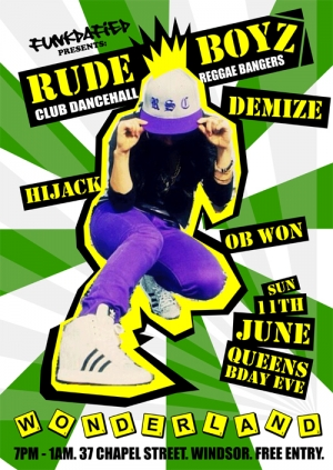 Rude Boyz Club Dancehall & Reggae Spectacular
